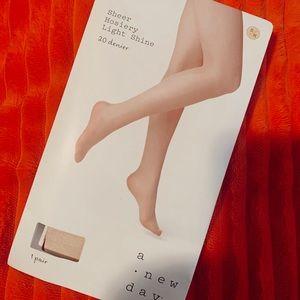 Shimmer tights